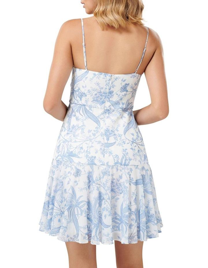 Eleni Ruched Mini Dress image 4