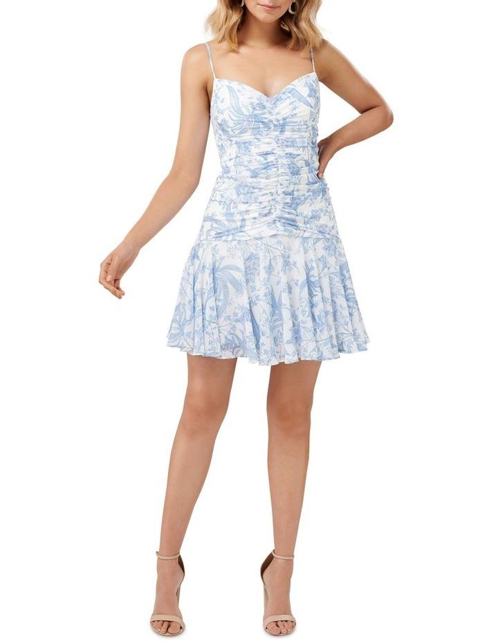Eleni Ruched Mini Dress image 5
