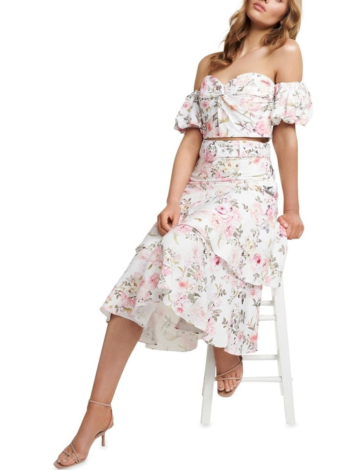 Pippa Linen Tiered Skirt image 5