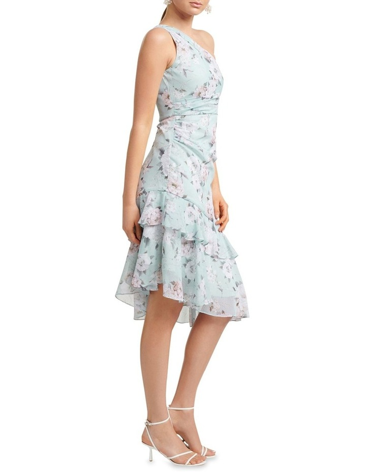 Cassidy One Shoulder Midi Dress image 3
