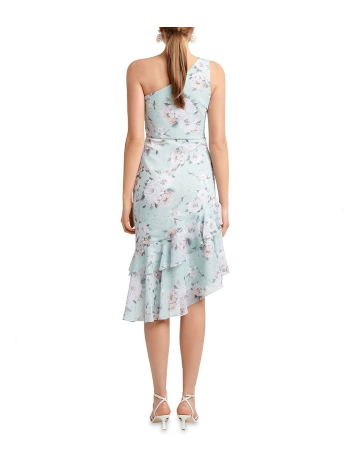 Cassidy One Shoulder Midi Dress image 4
