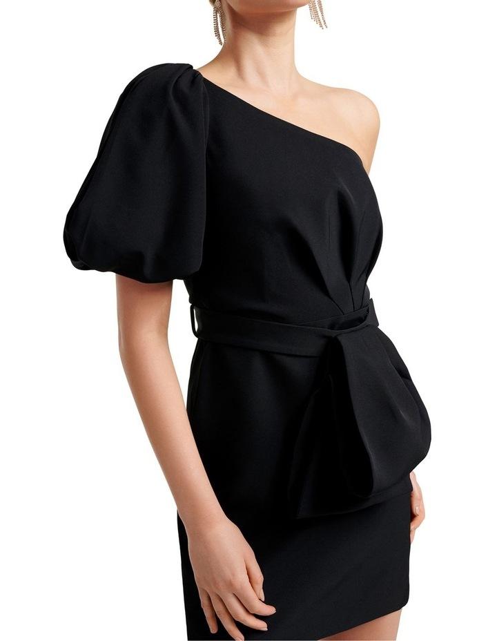 Maple One Shoulder Bow Mini Dress image 2