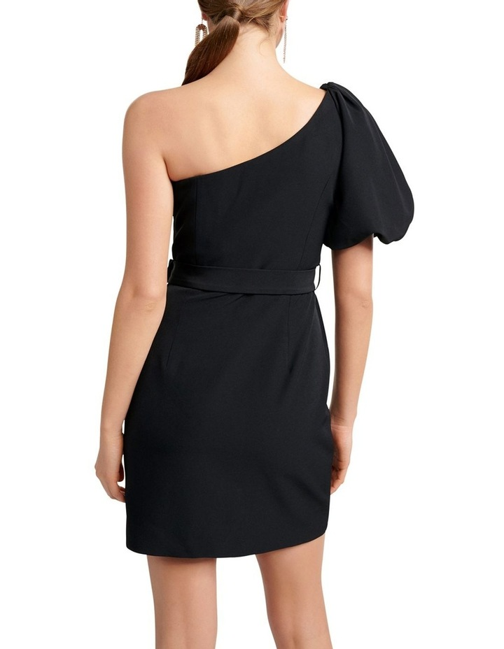 Maple One Shoulder Bow Mini Dress image 4