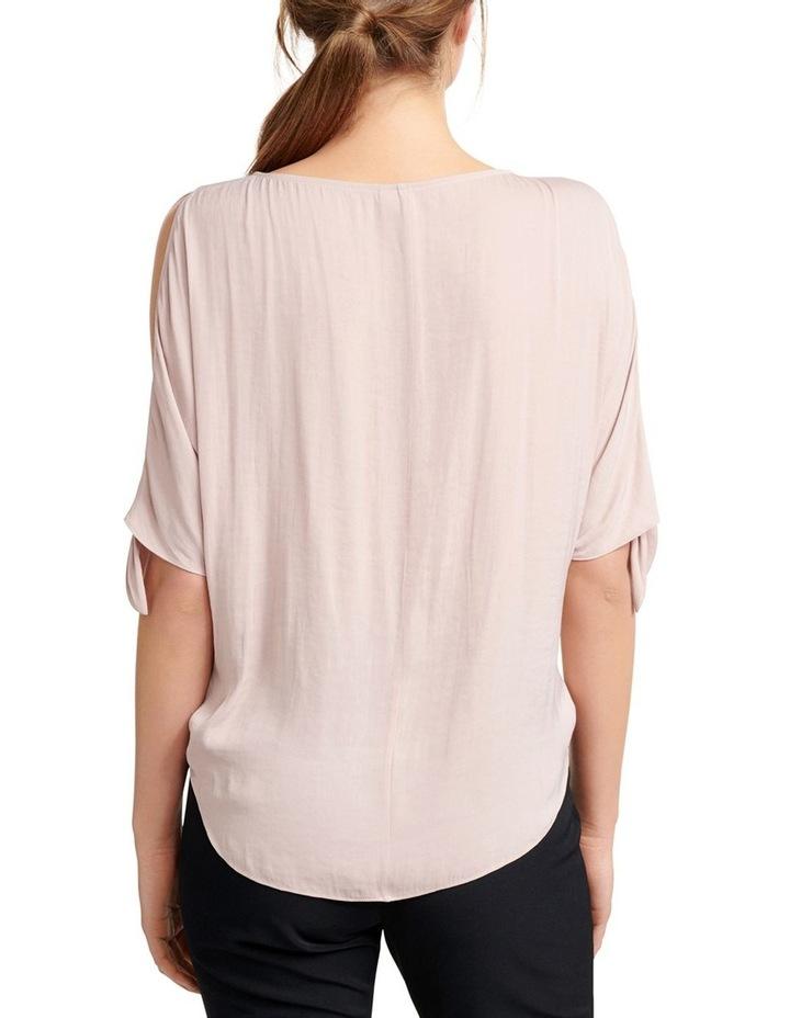 Simona Cold Shoulder Tie Sleeve Blouse image 3