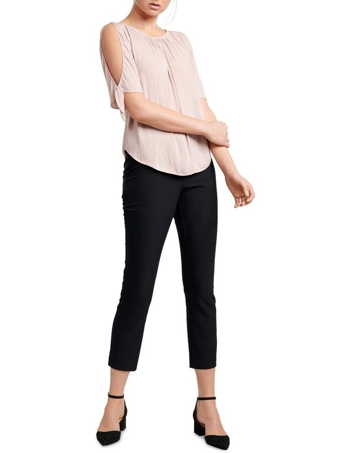 Simona Cold Shoulder Tie Sleeve Blouse image 4