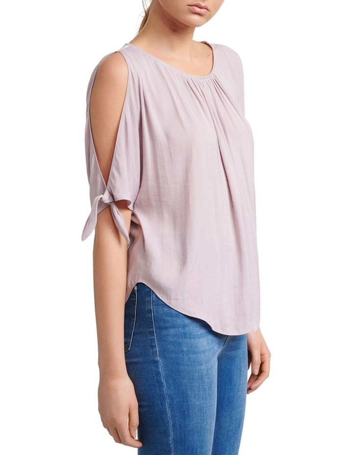Simona Cold Shoulder Tie Sleeve Blouse image 2