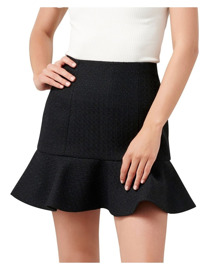 Louise Boucle Petite Fit & Flare Skirt image 1