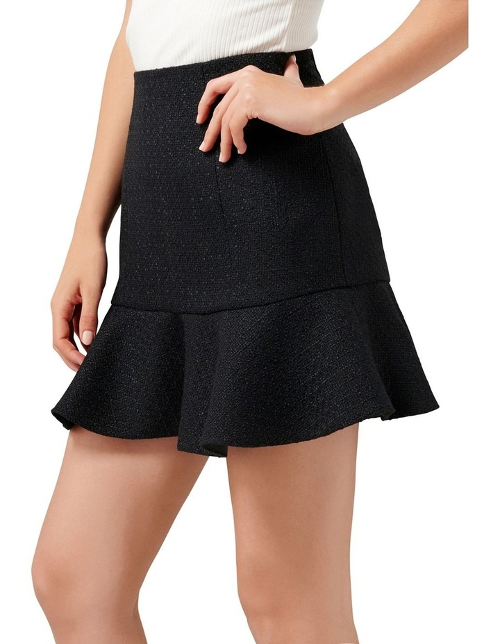 Louise Boucle Petite Fit & Flare Skirt image 2