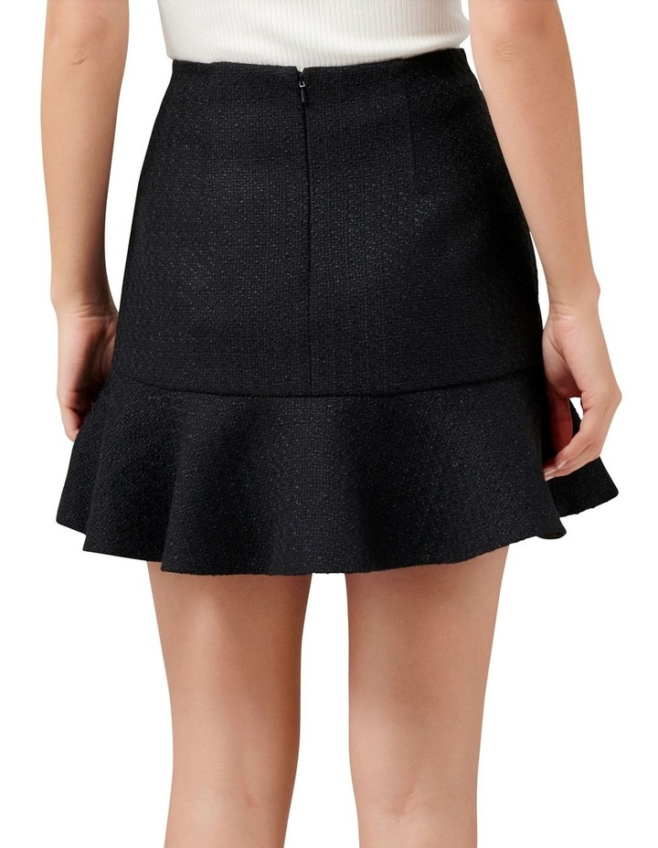 Louise Boucle Petite Fit & Flare Skirt image 3