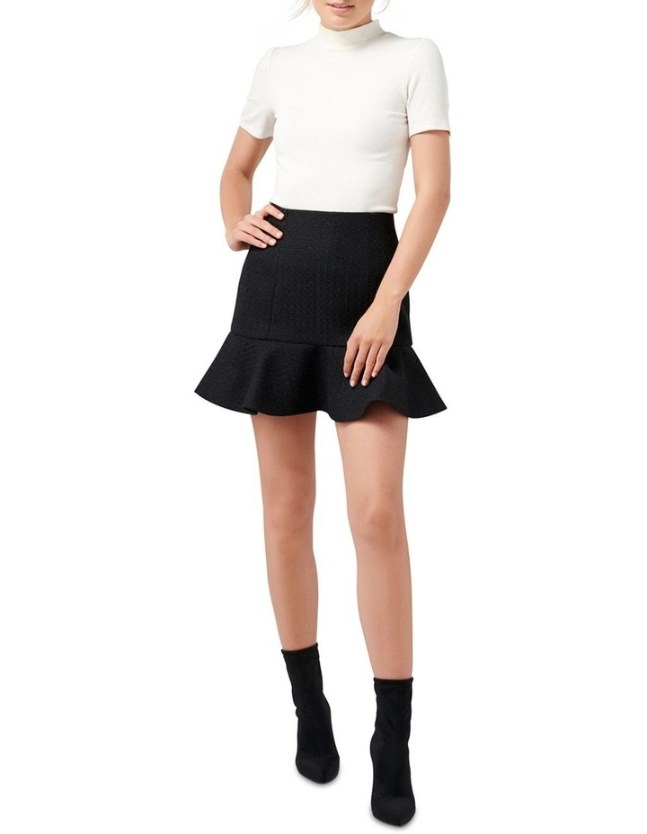 Louise Boucle Petite Fit & Flare Skirt image 4