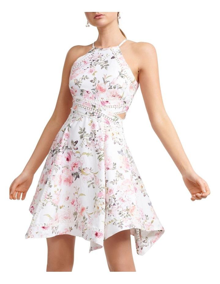 Halli Lace Trim Hanky Hem Dress image 1