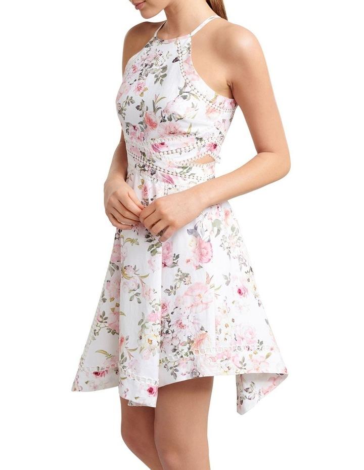 Halli Lace Trim Hanky Hem Dress image 3
