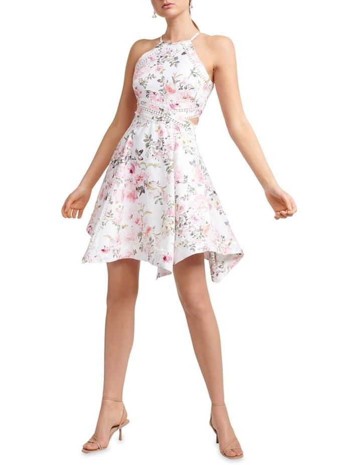 Halli Lace Trim Hanky Hem Dress image 5