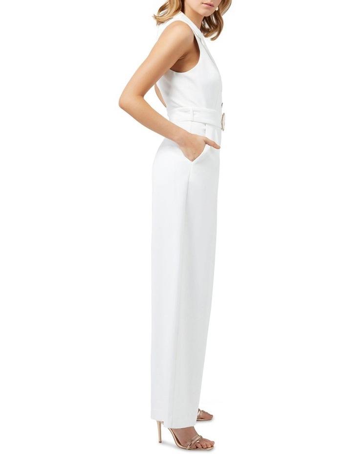 Ceilia Wide Leg Tux Jumpsuit image 3