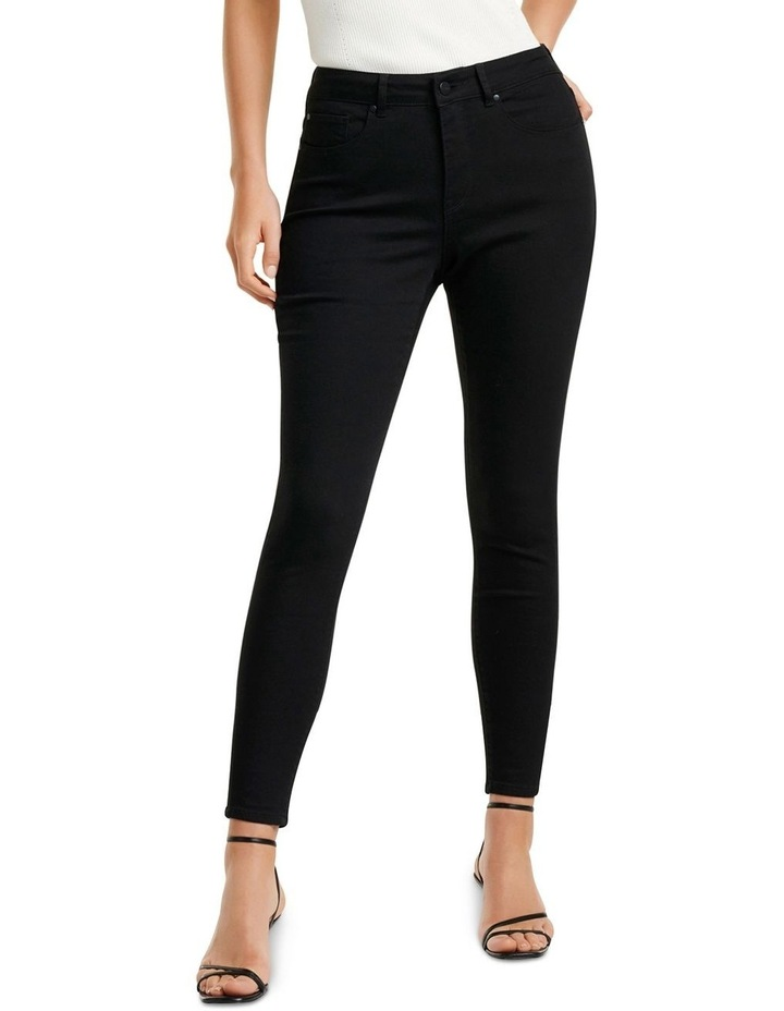 Hailey Mid Rise Curvy Jeans image 1