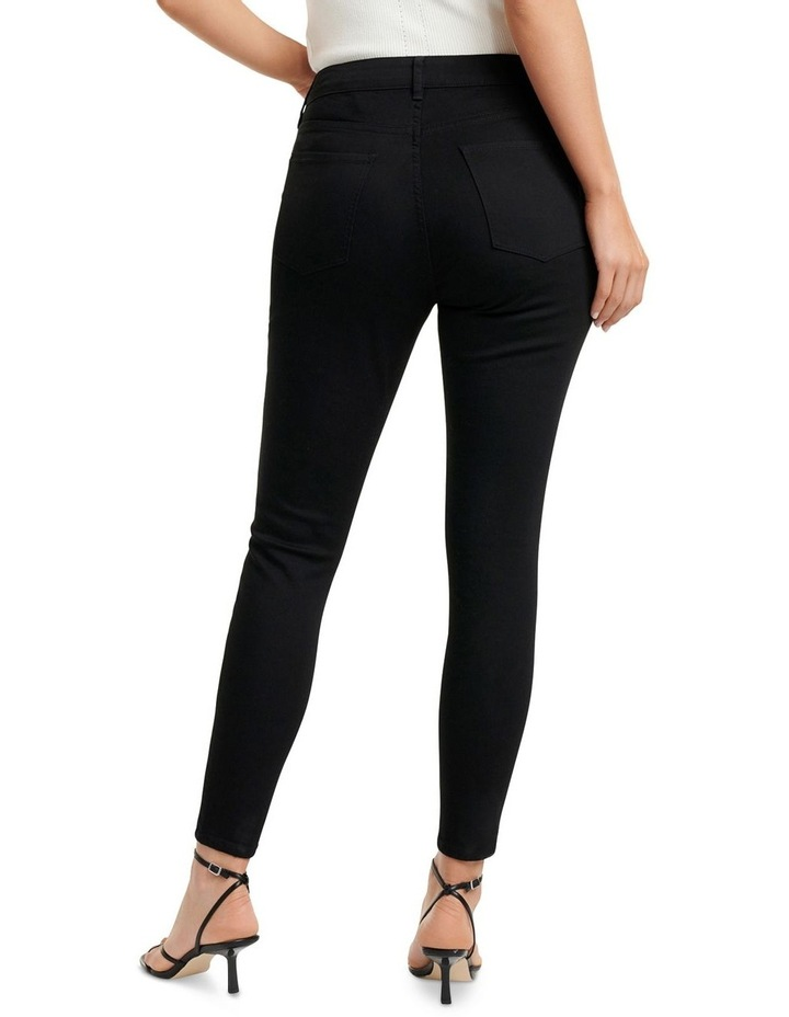Hailey Mid Rise Curvy Jeans image 4