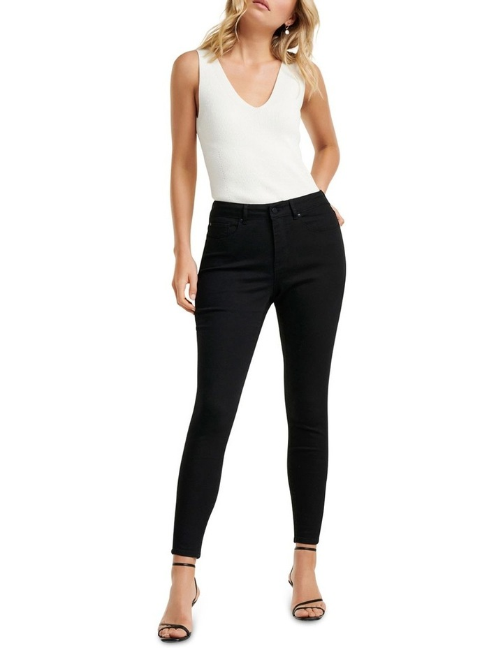 Hailey Mid Rise Curvy Jeans image 5
