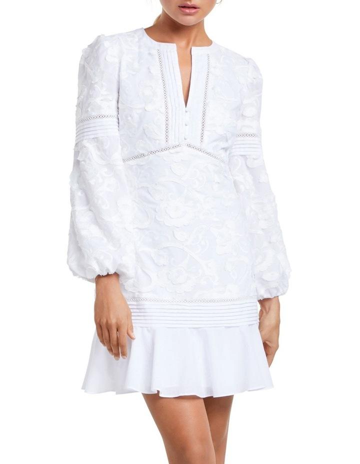 Bonnie Balloon Sleeve Cotton Dress image 1