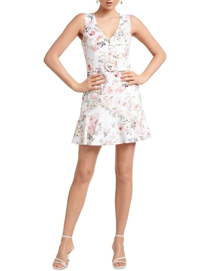 Pauline Belted Flippy Hem Dress image 5