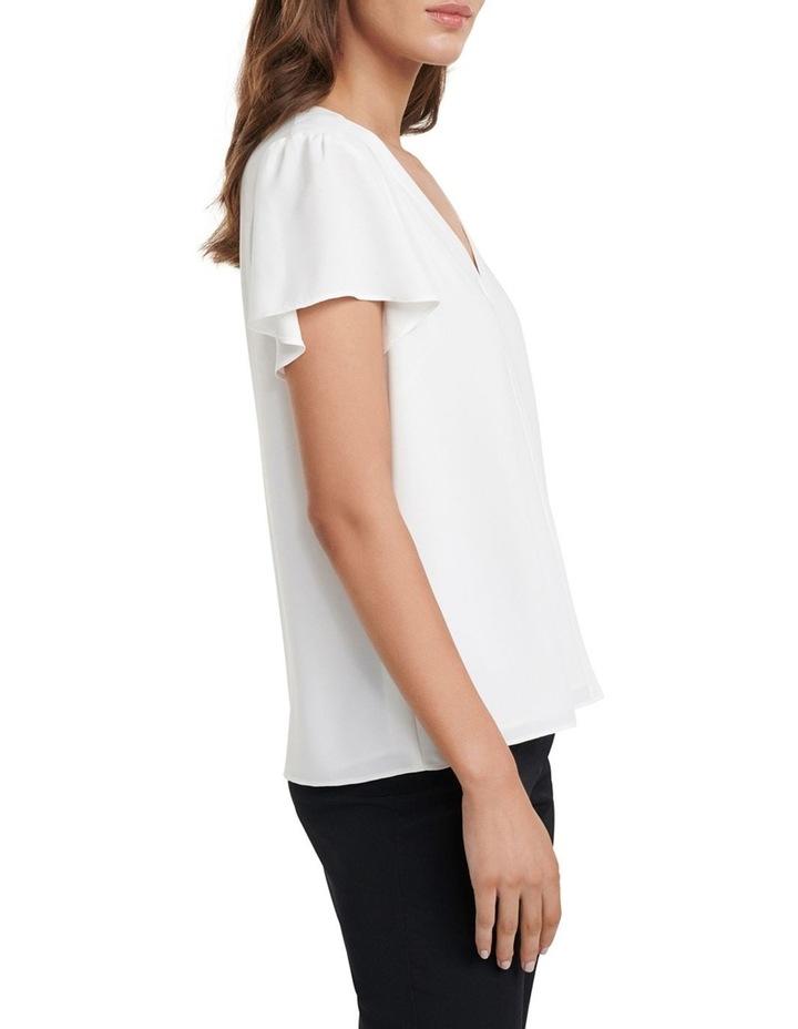 Elaina Flutter Short Sleeve Top image 3