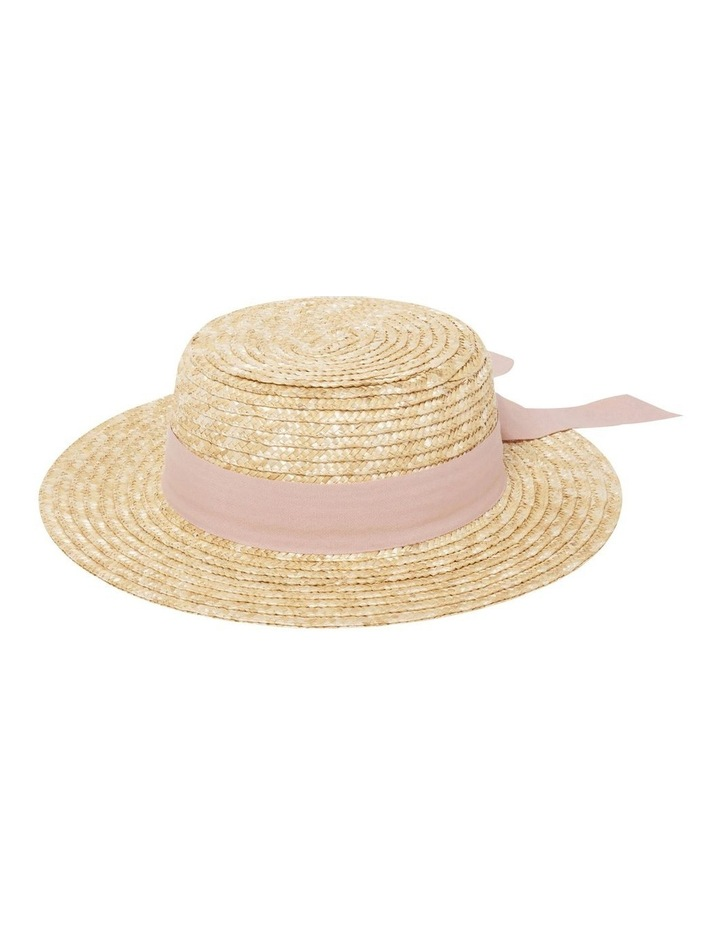 Grace Straw Boater Hat image 1