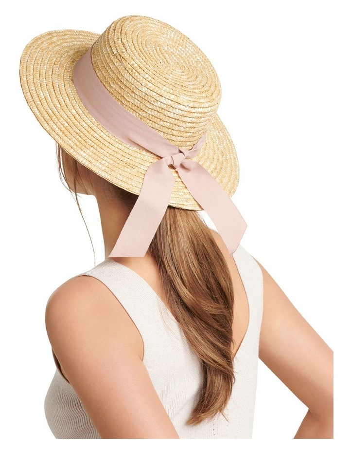 Grace Straw Boater Hat image 2