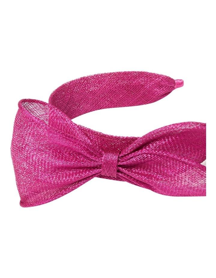 Pippa Asymmetric Bow Headband image 2