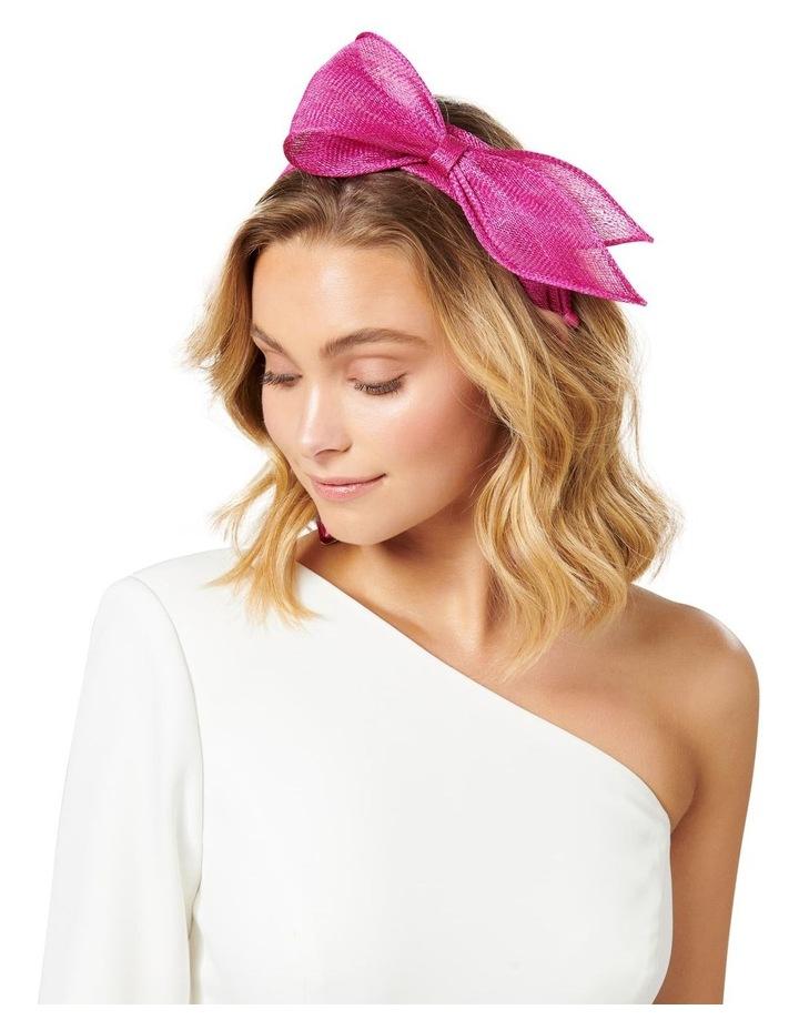 Pippa Asymmetric Bow Headband image 3