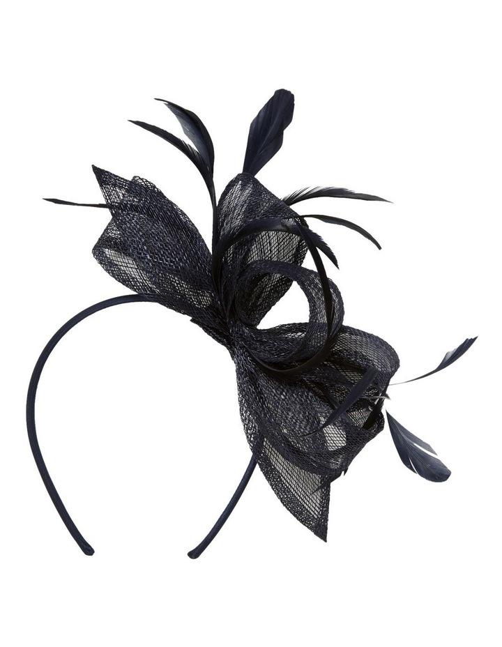 Bayley Feather Bow Headband image 1