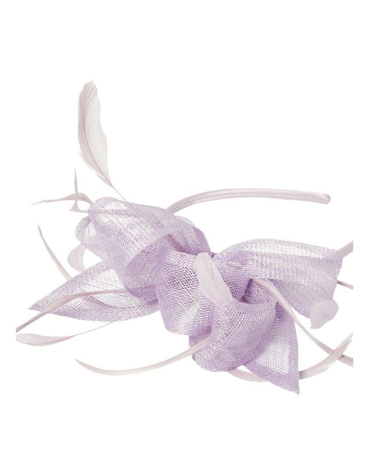 Bayley Feather Bow Headband image 2