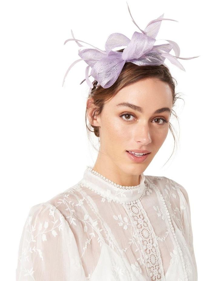Bayley Feather Bow Headband image 3
