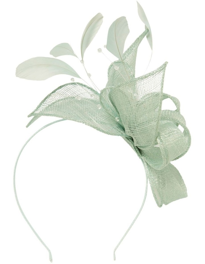 Brianna Feather Fascinator image 1