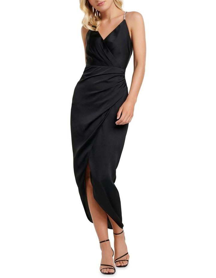 Tilly Satin Midi Dress image 1