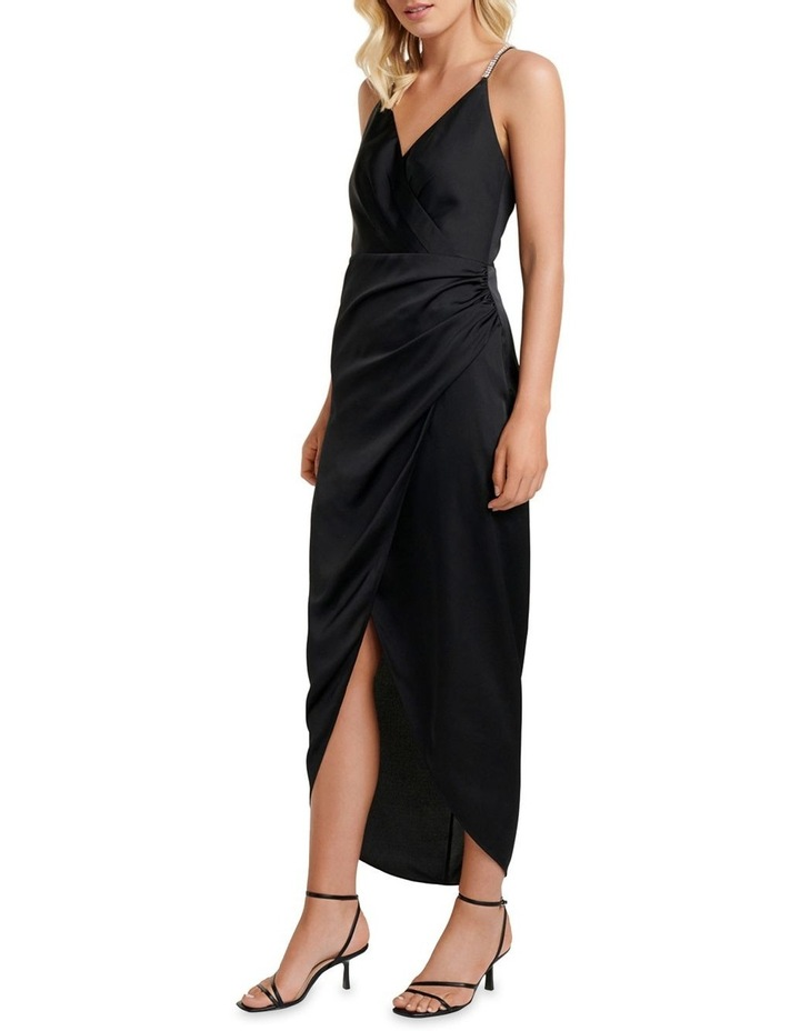 Tilly Satin Midi Dress image 3