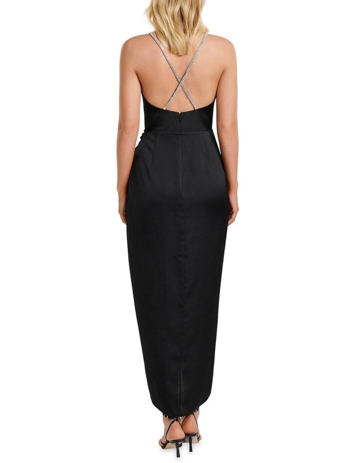 Tilly Satin Midi Dress image 4