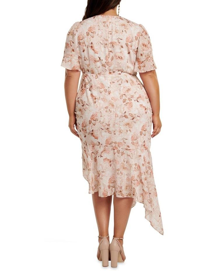 Ellie Ruched Curve Wrap Dress image 4
