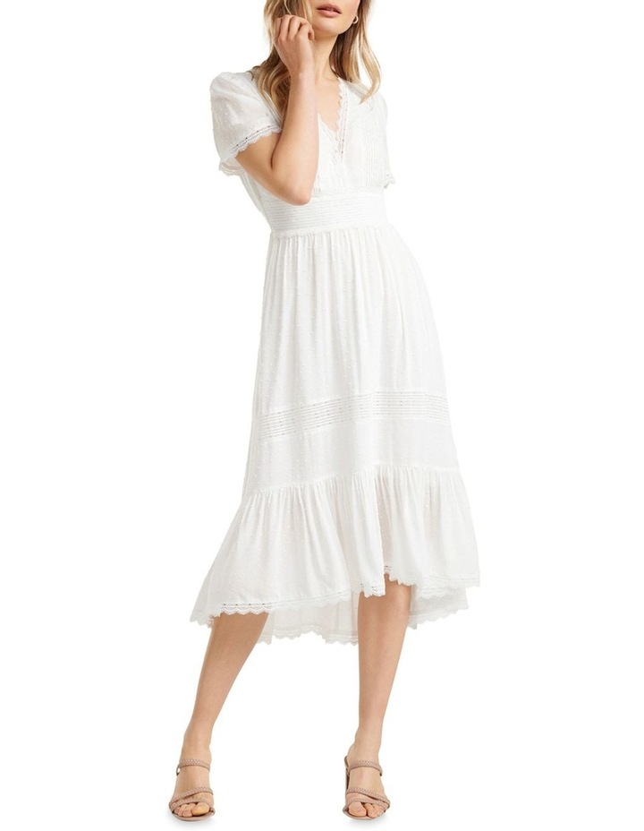 Margot Spliced Midi Dress by Forever New