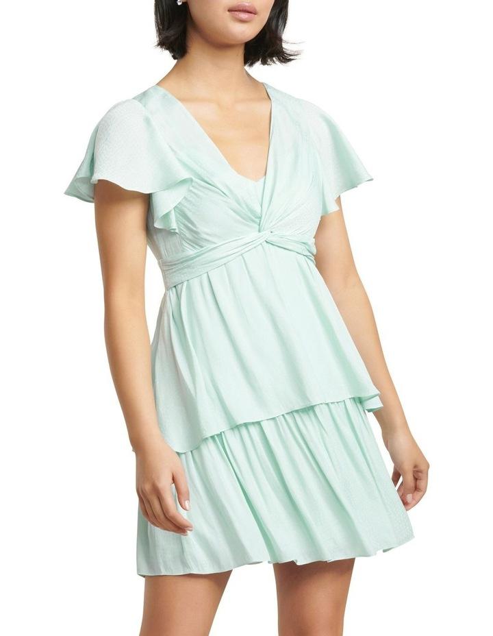 Siska Petite Twist Front Midi Dress image 1