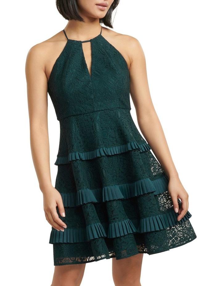 Elandra Petite Lace Halter Dress image 1