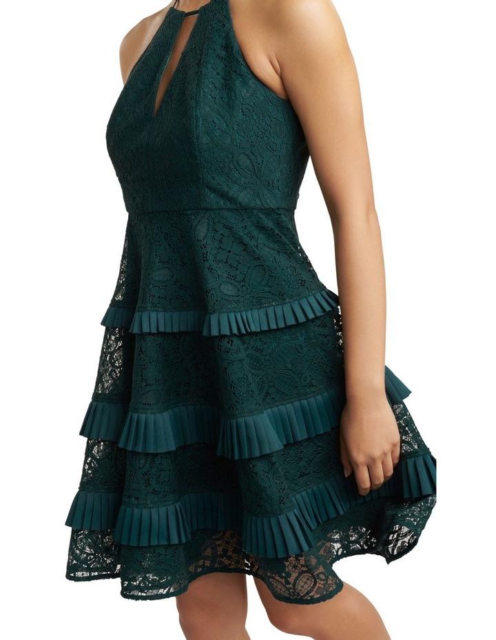 Elandra Petite Lace Halter Dress image 2