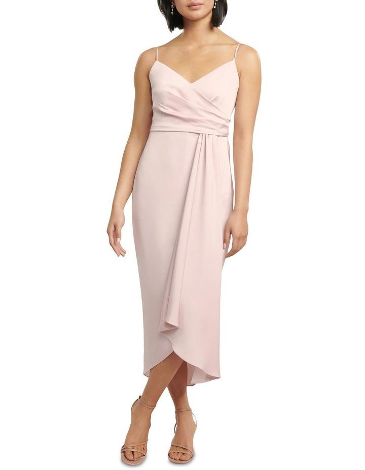 Bree Petite Cross Over Drape Dress image 1