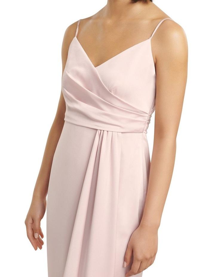 Bree Petite Cross Over Drape Dress image 2