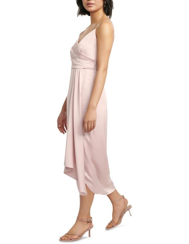 Bree Petite Cross Over Drape Dress image 3