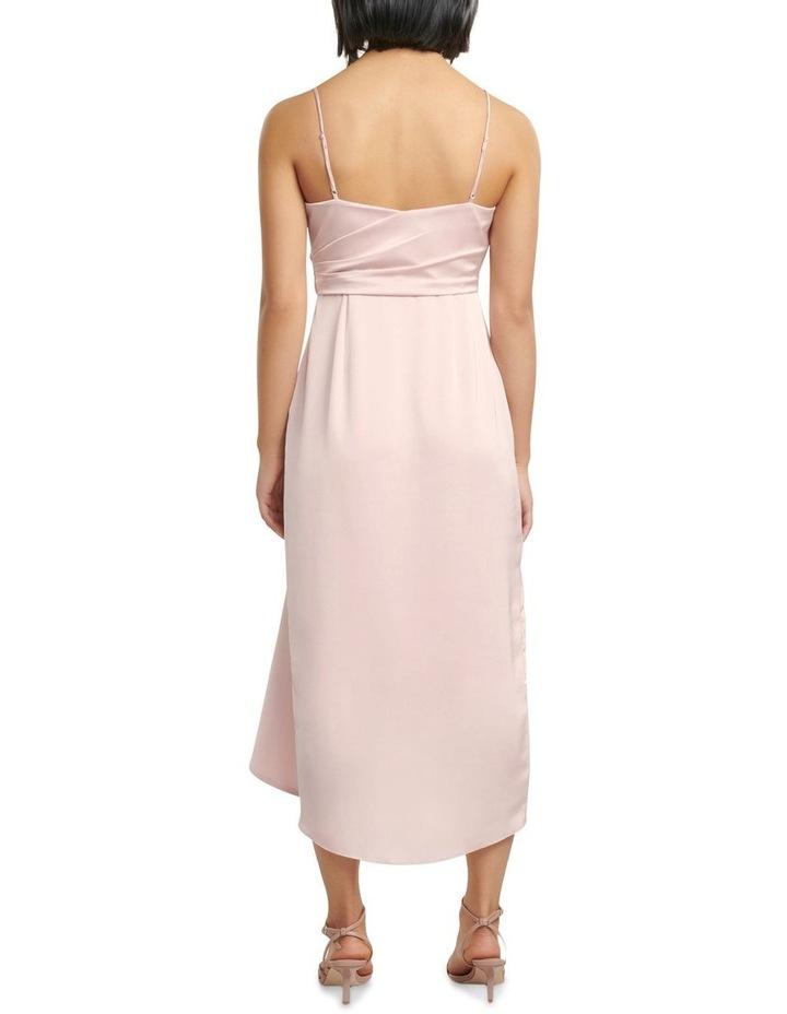 Bree Petite Cross Over Drape Dress image 4