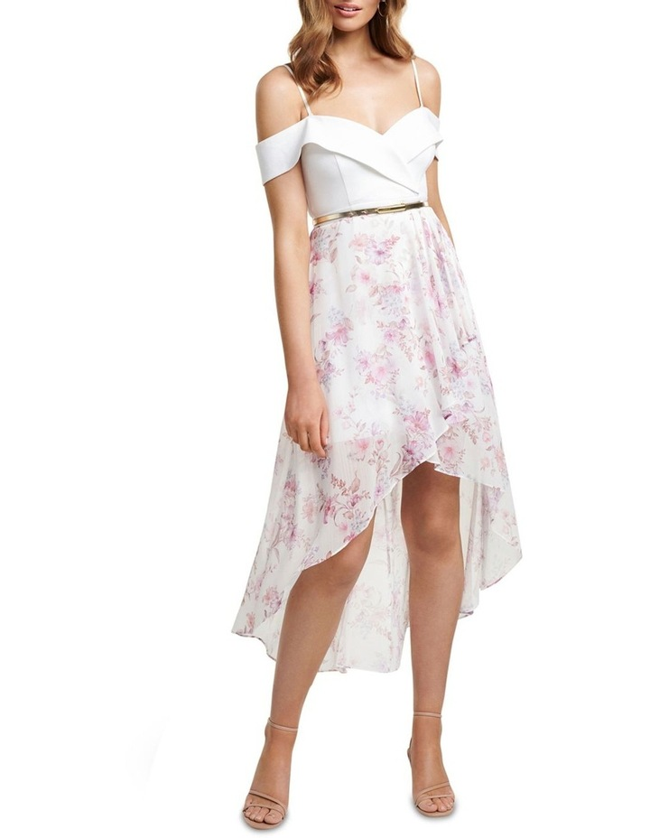 Season  Petite Off Shoulder 2 In 1 Dress image 2