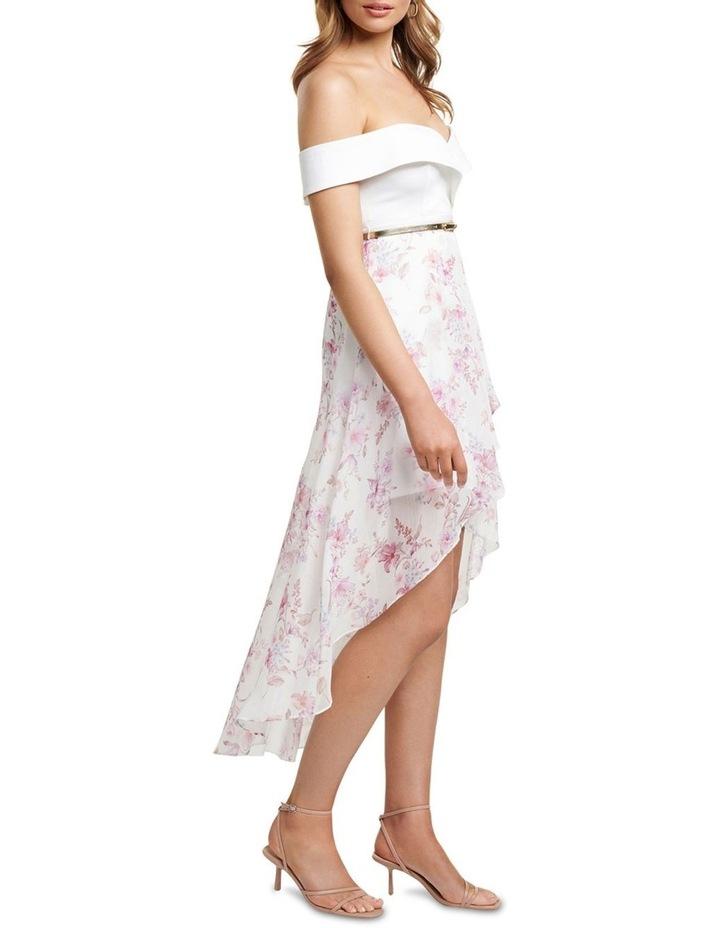 Season  Petite Off Shoulder 2 In 1 Dress image 3
