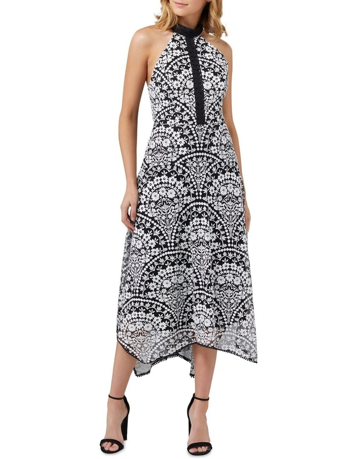 Karli Embroidered Lace Dress image 1