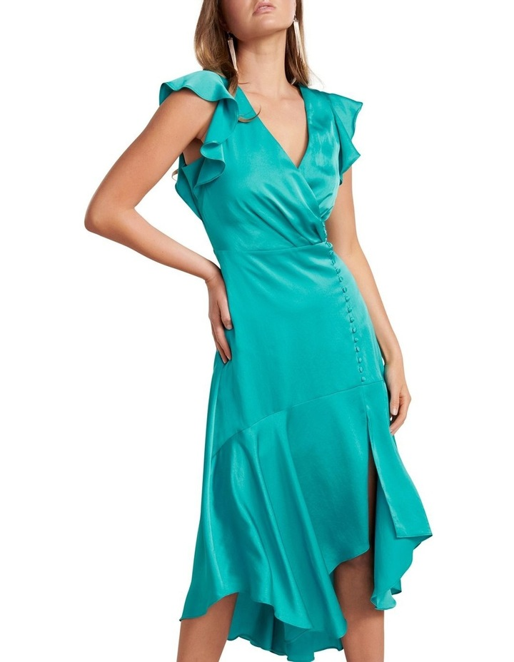 Carina Flutter Sleeve Dress image 2