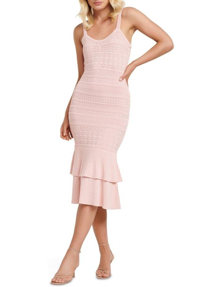 Bonnie Sheer Frill Knit Dress image 1