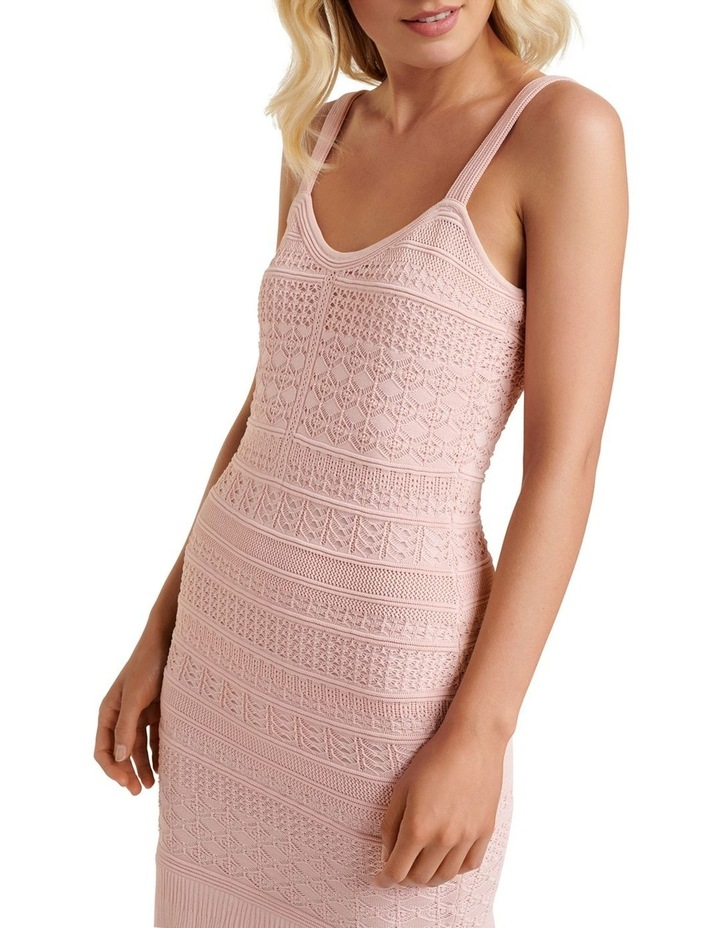 Bonnie Sheer Frill Knit Dress image 2